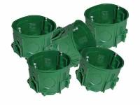 Коробка установочная бетон (5 штук)