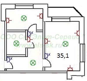 Как сделать проводку в однокомнатной квартире своими руками